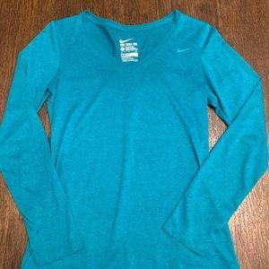 Nike Long-Sleeve Dri-Fit Tee